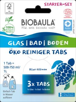 Biobaula Öko-Reiniger-Tabs StarterSet 8x3Stück