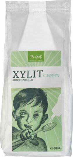 Biologische Präparate Dr. Groß Xylit green Birkenzucker 6x600g