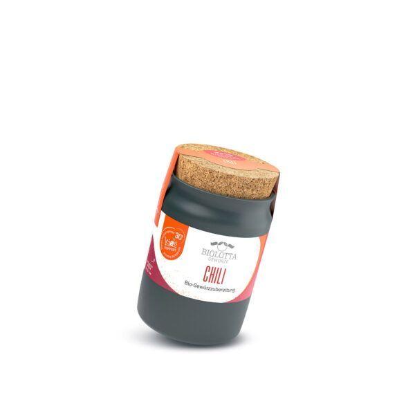 Biolotta Keramiktopf Chili Bio-Gewürzmischung 4x85g