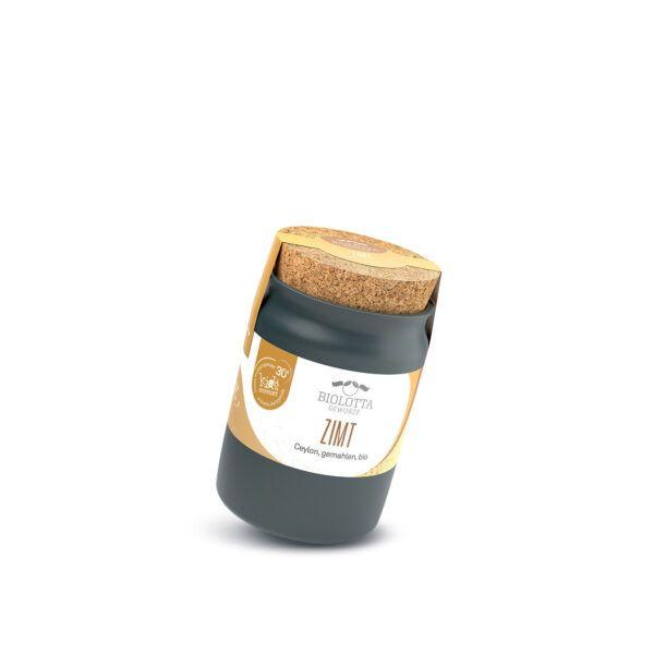 Biolotta Keramiktopf Zimt Ceylon Canehl gemahlen, bio 4x60g