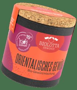Biolotta Korkdose Orientalisches Gewürz Bio-Gewürzmischung 4x45g