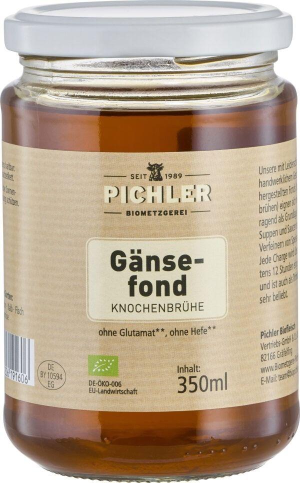 Biometzgerei Pichler Bio-Gänsefond 6x350ml