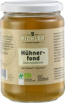 Biometzgerei Pichler Bio-Hühnerfond 6x350ml
