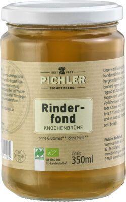 Biometzgerei Pichler Bio-Rinderfond 6x350ml