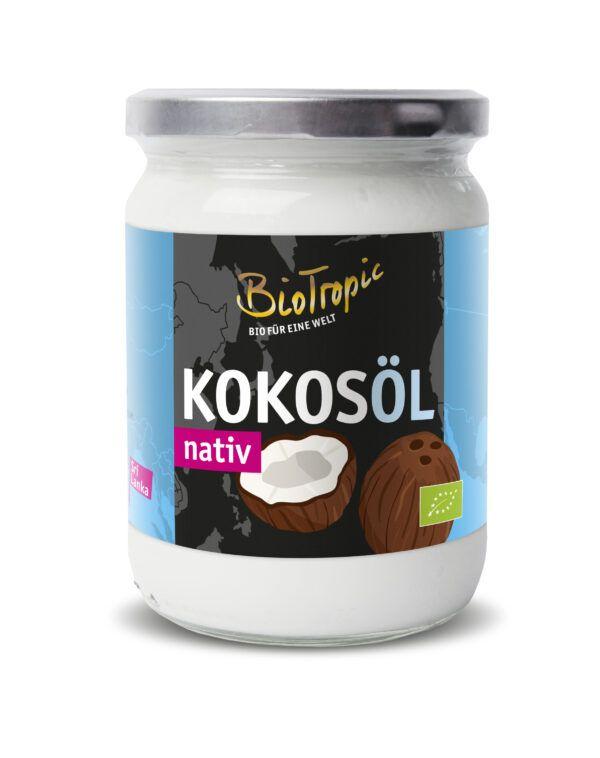 Biotropic Kokosöl nativ 6x500ml