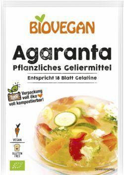 Biovegan Agaranta, BIO 12x18g