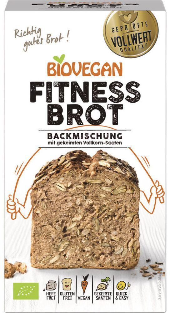 Biovegan Brotbackmischung Fitness, BIO 4x330g