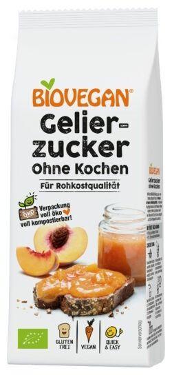 Biovegan Gelierzucker ohne Kochen, BIO 8x115g