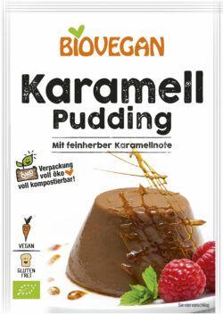 Biovegan Karamell Pudding, BIO 10x43g