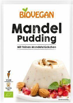 Biovegan Mandel Pudding, BIO 10x49g