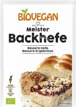 Biovegan Meister Backhefe, BIO 25x7g