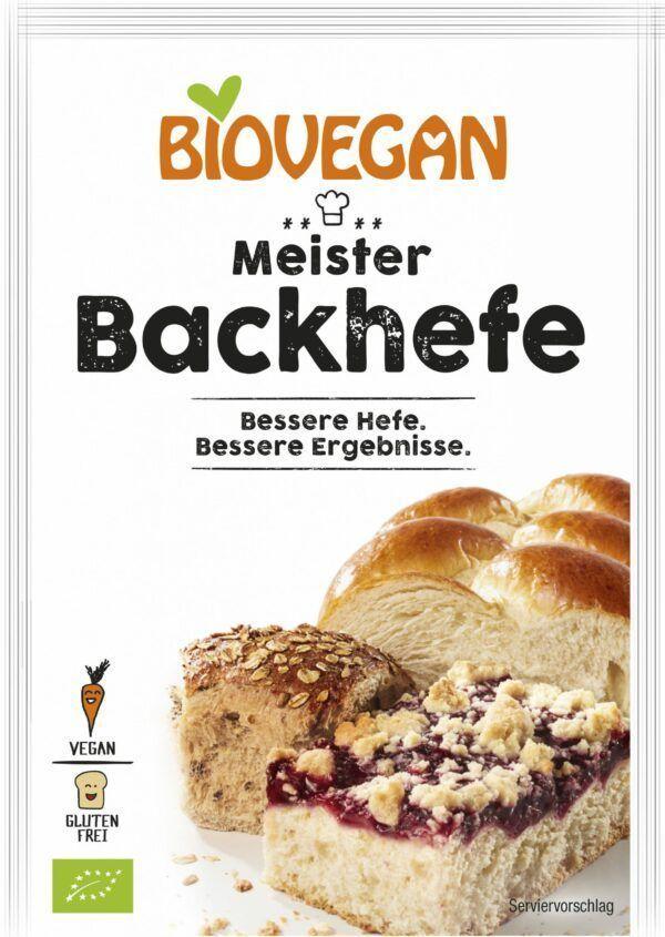 Biovegan Meister Backhefe, BIO 7g