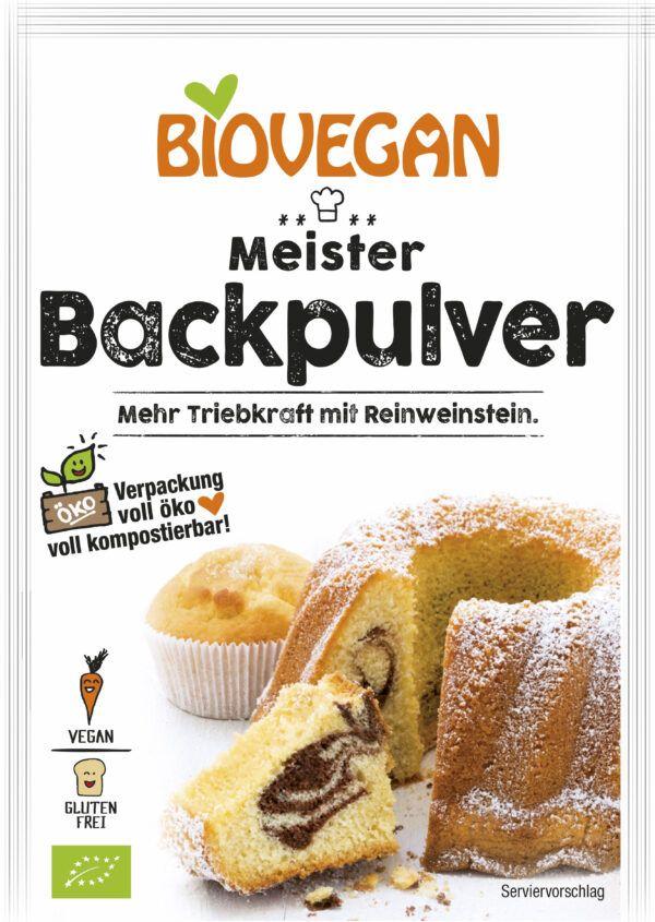 Biovegan Meister Backpulver, BIO 51g