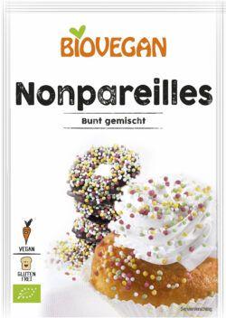 Biovegan Nonpareilles bunt gemischt, BIO 10x35g