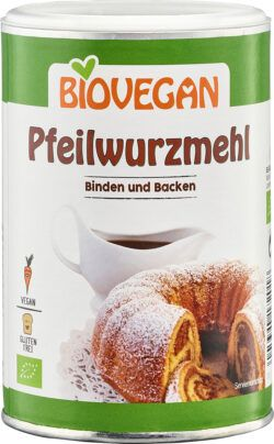 Biovegan Pfeilwurzmehl, BIO 4x200g