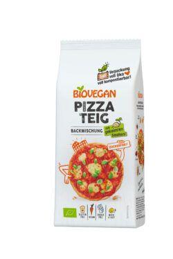 Biovegan Pizzateig Backmischung mit 11% gekeimter Hirse-Saat, BIO 6x300g
