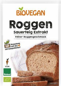 Biovegan Roggen Sauerteig Extrakt, BIO 12x30g