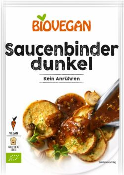 Biovegan Saucenbinder dunkel, BIO 6x100g