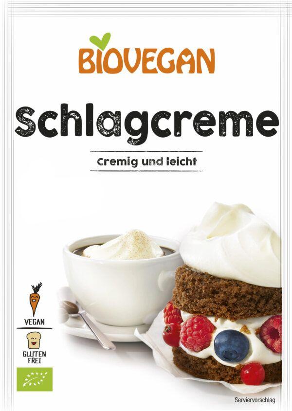 Biovegan Schlagcreme, BIO, glutenfrei 54g