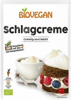 Biovegan Schlagcreme, BIO, glutenfrei 12x54g