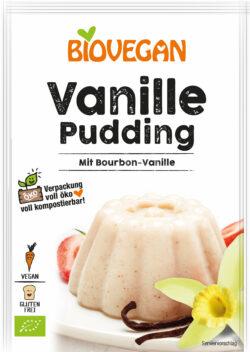Biovegan Vanille Pudding, BIO 10x33g