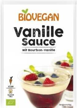 Biovegan Vanille Sauce mit Bourbon-Vanille, BIO 7x32g