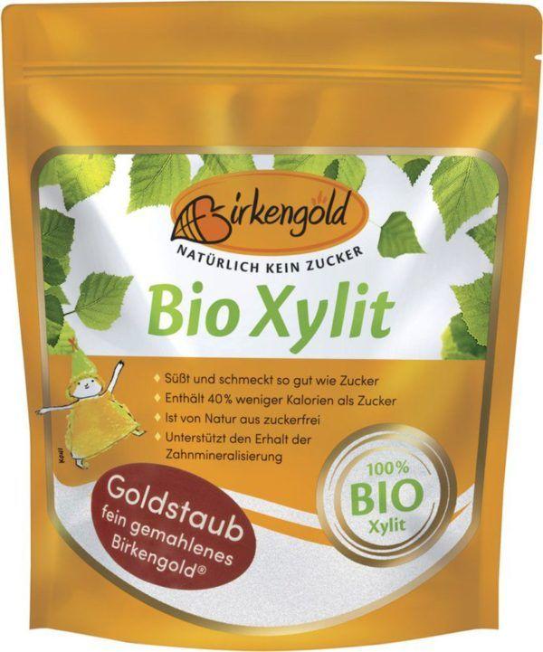 Birkengold Bio Xylit Goldstaub 6x350g
