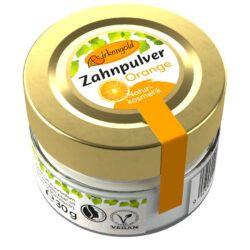 Birkengold ® Zahnpulver Orange Glas 30g