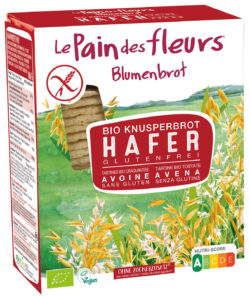 Blumenbrot Knusprige Bio Hafer-Schnitten 6x150g