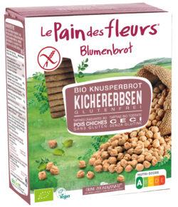 Blumenbrot Knusprige Bio Kichererbsen-Schnitten 6x150g