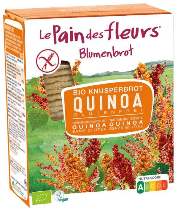 Blumenbrot Knusprige Bio Quinoa-Schnitten 150g