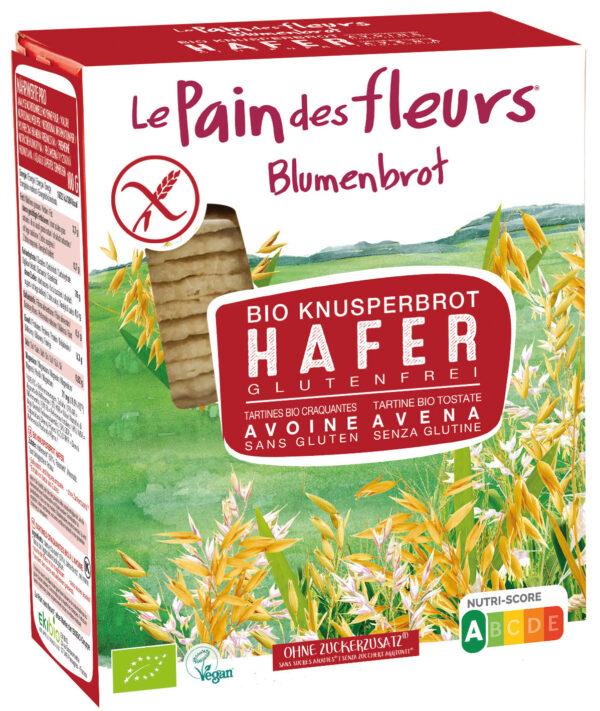 Blumenbrot Knusprige Bio Hafer-Schnitten 150g