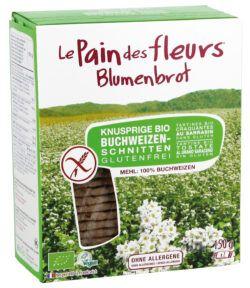 Blumenbrot Knusprige Bio Buchweizen-Schnitten 6x150g