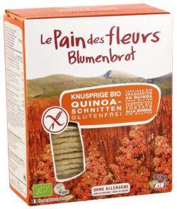 Blumenbrot Knusprige Bio Quinoa-Schnitten 6x150g