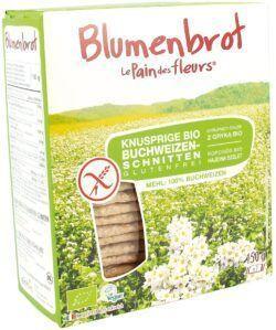 Blumenbrot Knusprige Bio Buchweizen-Schnitten 150g