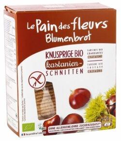 Blumenbrot - Le Pain des Fleurs Knusprige Bio Kastanien-Schnitten 6x150g