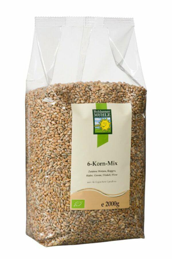 Bohlsener Mühle 6-Korn-Mix 4x2kg