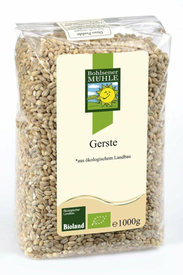 Bohlsener Mühle Gerste, geschält 6x1kg
