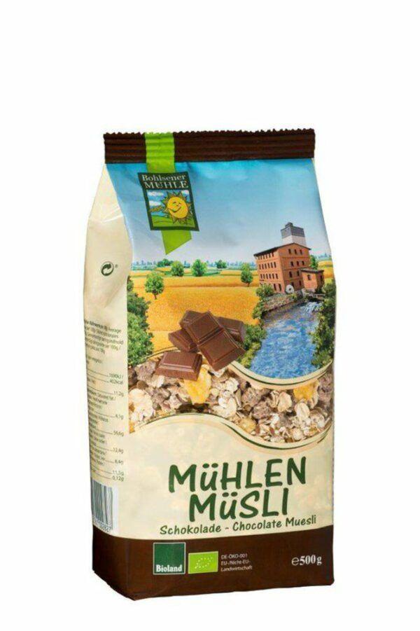 Bohlsener Mühle Mühlen Müsli Schokolade 6x500g