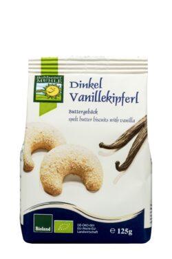 Bohlsener Mühle Dinkel Vanillekipferl Buttergebäck 6x125g