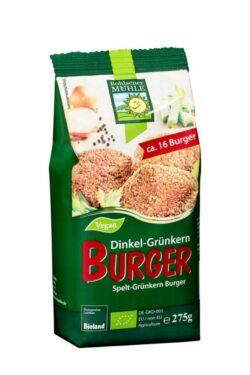 Bohlsener Mühle Dinkel-Grünkern Burger 6x275g