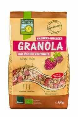 Bohlsener Mühle Granola Erdbeer-Himbeer 6x350g