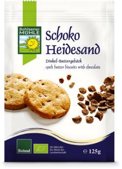 Bohlsener Mühle Schoko-Heidesand Dinkel-Buttergebäck 125g