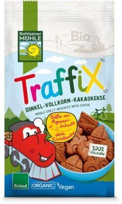 Bohlsener Mühle TraffiX Dinkel-Vollkorn-Kakaokekse 125g
