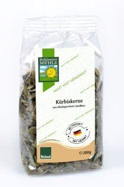 Bohlsener Mühle Kürbiskerne, dunkelgrün, aus Deutschland 200g