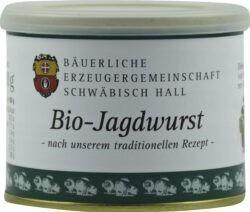 Bäuerliche Erzeugergemeinschaft Schwäbisch Hall Bio Jagdwurst 12x200g