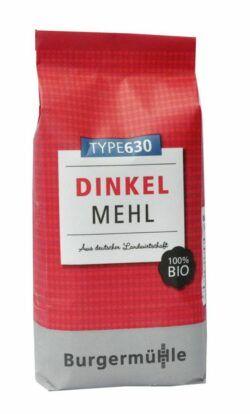 Burgermühle Dinkelmehl Type 630 6x1kg