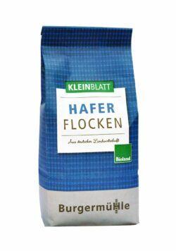 Burgermühle Haferflocken, Kleinblatt, Bioland 6x500g