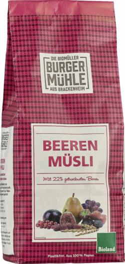 Burgermühle Beeren Müsli 6x750g
