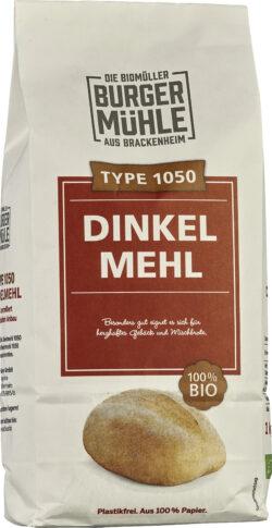 Burgermühle Dinkelmehl Type 1050 6x1kg